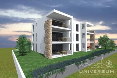 Apartment near Umag with swimming pool - under construction